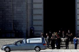 El comunicado de la familia Franco tras la exhumación