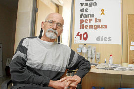 Tomeu Amengual podría dejar hoy la huelga de hambre dado su estado de salud