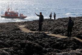 La pareja que cayó al mar en Cala Esmeralda podría estar alojada en una casa de alquiler turístico