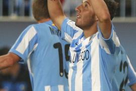 El Málaga hace historia y lidera la Liga de los modestos