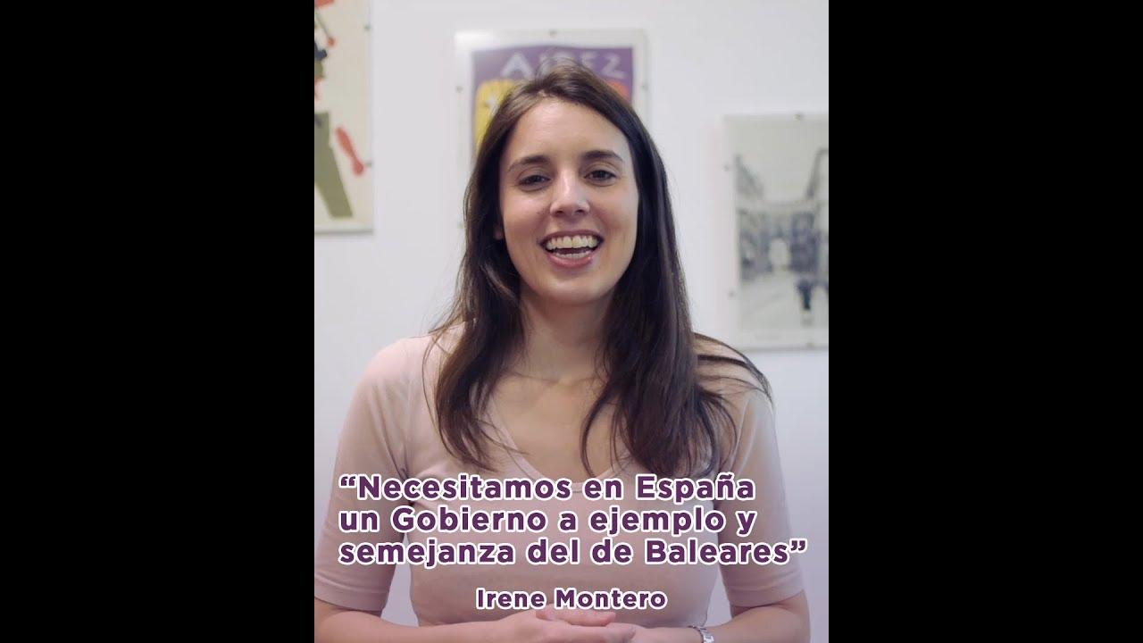 Montero pide un Gobierno central con Unidas Podemos, como en Baleares