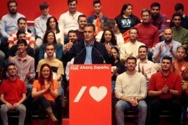 Pedro Sánchez en acto PSOE en Guadalajara