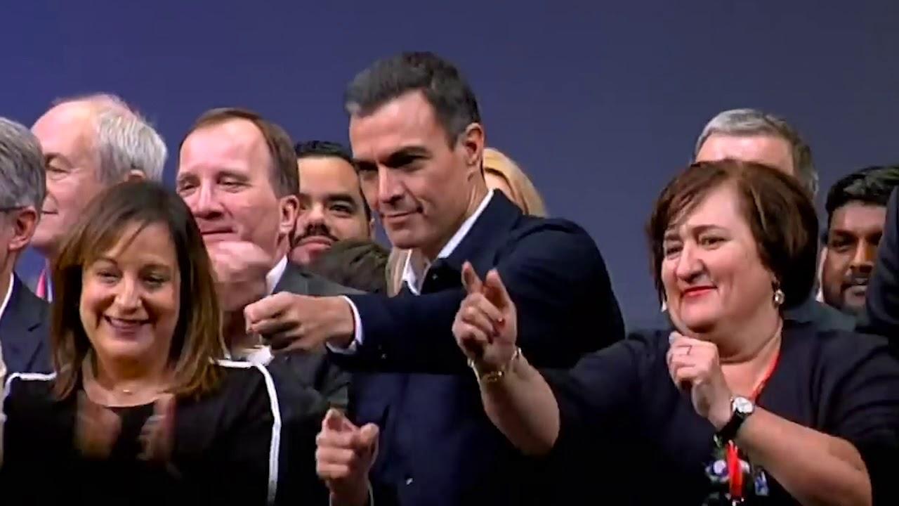 Versionan a Los Suaves y ponen a bailar a Iglesias y Sánchez para pedir el voto para Más País