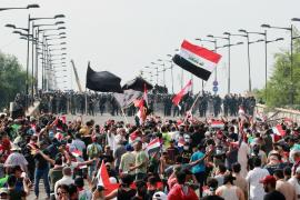 Al menos 21 muertos y unos 1.800 heridos en las protestas en Irak