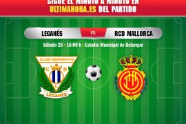 Así ha sido el partido Leganés-Real Mallorca