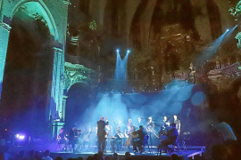 La protesta musical de 'Climàtic 2.2.' se atrinchera en un repleto Sant Francesc
