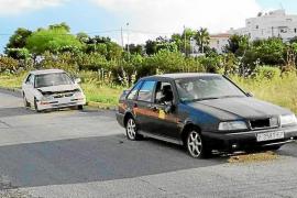 Los cinco municipios de Ibiza suman más de 1.000 vehículos abandonados en lo que va de año