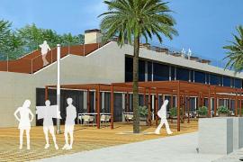 El solar de La Lubina del Moll Vell acogerá restaurantes y comercios a final de 2013