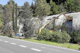 El Consell tapia las aberturas del túnel de Gènova