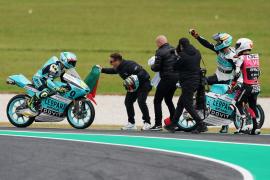 Dalla Porta se corona campeón de mundo de Moto3