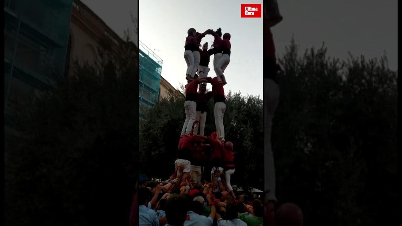 Los Castellers de Mallorca regresan a los siete pisos