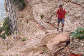 Accidente de escalada en Montserrat