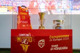 El Rafa Nadal Museum acoge los trofeos del Mundial y el Eurobasket