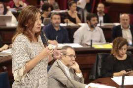Armengol acusa a Company de avivar la crispación por pedirle que rompa con Més por Cataluña