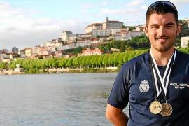 Un medallista de patrulla en Palma