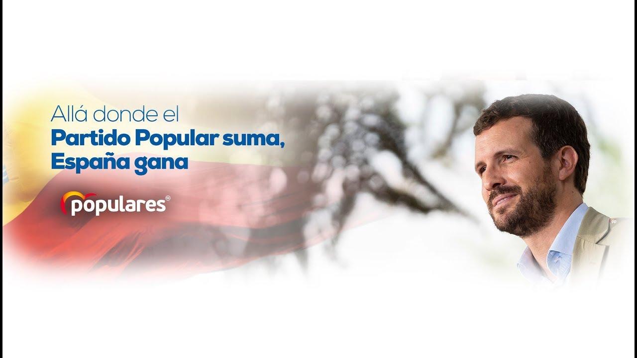 Así ha sido el acto electoral de Pablo Casado en Palma
