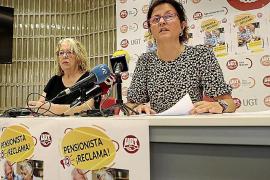 Rueda de prensa de UGT sobre pensiones