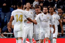 El Real Madrid encuentra la tranquilidad y golea al Leganés