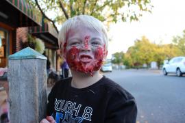Consejos para compartir fotos de tus hijos en Halloween