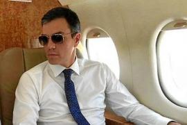 El avión 'deja tirado' a Sánchez