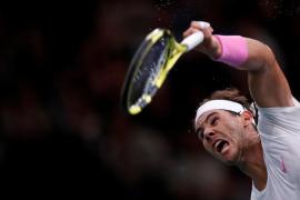 Nadal pasa a cuartos en París y suma ante Wawrinka su triunfo número 50 del año