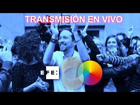 Así ha sido el acto electoral del inicio de campaña de Pablo Iglesias en Palma
