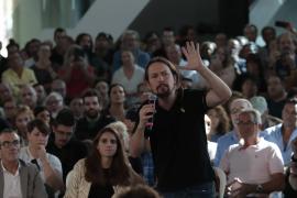 Iglesias reclama en Palma un Gobierno estatal como el de Baleares