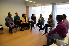 Iglesias se reúne con el comité de empresa de Es Murterar