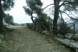 El Consell de Mallorca pondrá contadores para saber cuántos senderistas pasan por la Serra