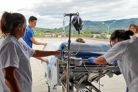 'Paseos que curan' en el hospital de Inca