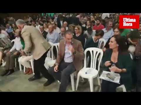 Ortega Smith en Palma: «Hoy comienza la cuenta atrás contra los enemigos de España»