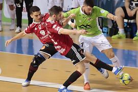 El Palma Futsal tumba al Zaragoza con autoridad