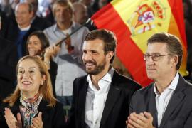 Casado dice que pondrá «orden» en Cataluña con un 155 sin «limitaciones»