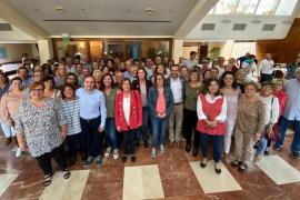 Reyes Maroto pide en Menorca el «voto útil» para el PSOE