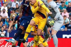 El Barça cae ante el Levante