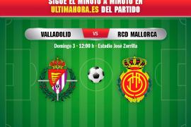 Así ha sido el Real Valladolid-Real Mallorca