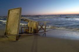 El temporal de viento provoca incidencias en Mallorca