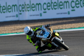 Pakita Ruiz, pentacampeona de España de motociclismo