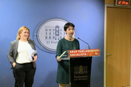 Mercedes Garrido y Silvia Cano