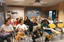 Alumnes de grau mitjà de FP del IES Francesc de Borja Moll, visitaren les instal·lacions de Grup Serra