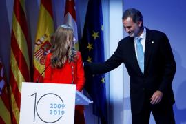 Felipe VI apela a una Cataluña plural sin violencia ni intolerancia