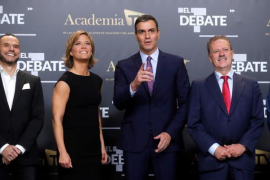 Debate electoral a cinco