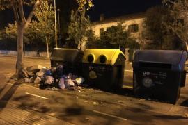 Calles sucias en Palma