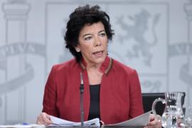 Celaá avisa a los indecisos que si hay bloqueo no habrá Gobierno