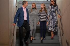 La familia real finaliza su estancia en Barcelona con una llamada a la convivencia en Cataluña