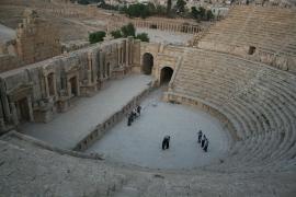 Apuñalados tres turistas y un guardia cerca de las ruinas jordanas de Gerasa