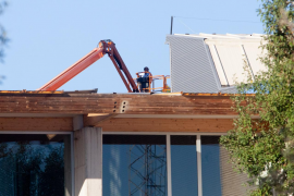El polideportivo de Can Coix reabrirá hoy tras los daños sufridos por el temporal