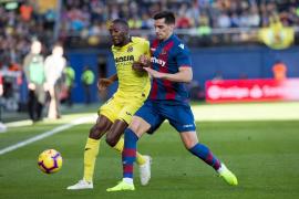 Ekambi sigue al margen del grupo pero llegará a Mallorca