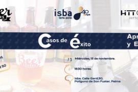 Hitt Group y Beer Lovers serán los dos casos de éxito empresarial que participarán en Aprende y Emprende con ISBA