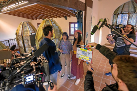 Rodaje de la serie china 'Spain Passion' en Palma